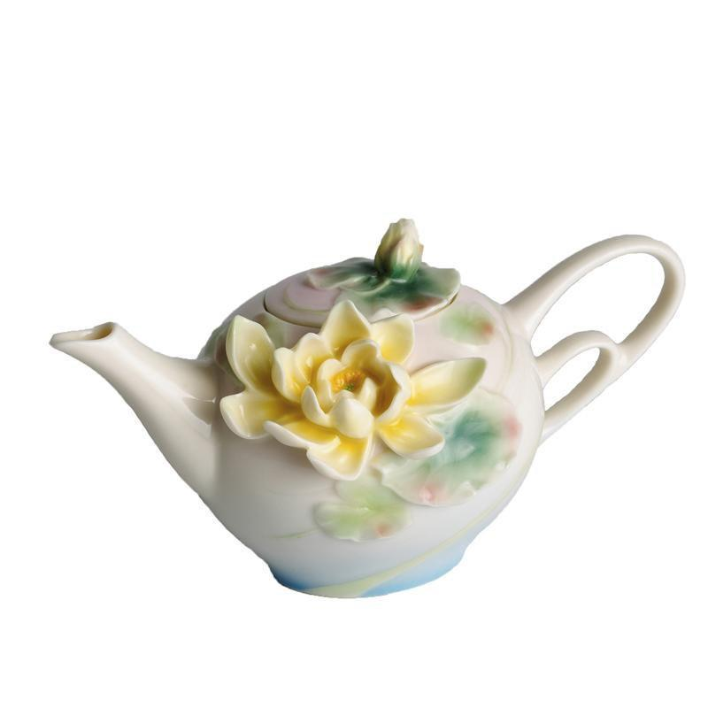 Franz Collection Water Lily Small Teapot FZ00816