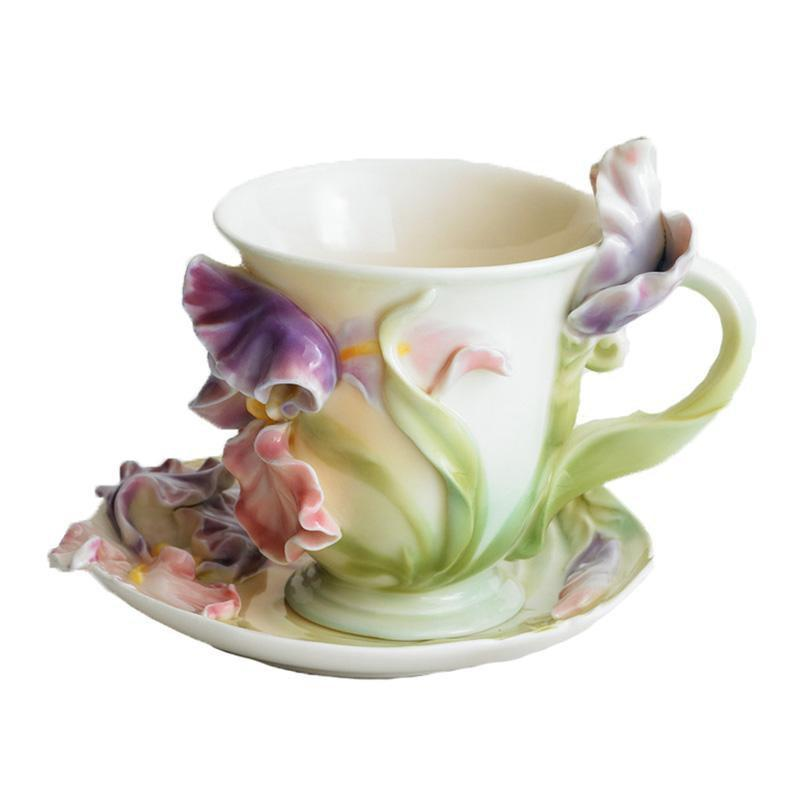 Franz Collection Windswept Beauty Cup Saucer FZ00836