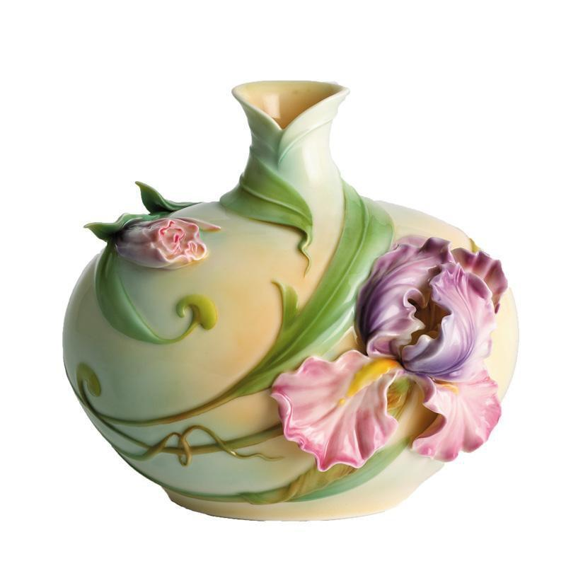 Franz Collection Windswept Iris Vase FZ00488