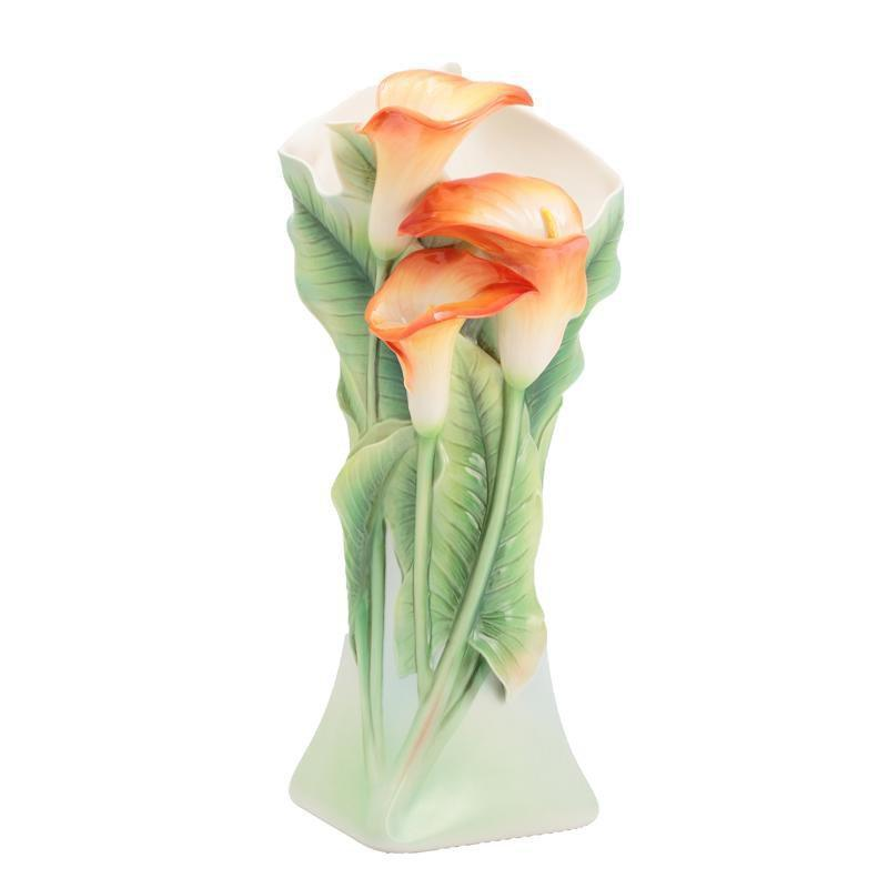 Franz Collection Youthful Vigor Calla Lily Vase FZ02930