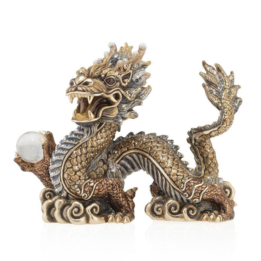 Jay Strongwater Apalala Imperial Dragon Figurine SDH1907-293