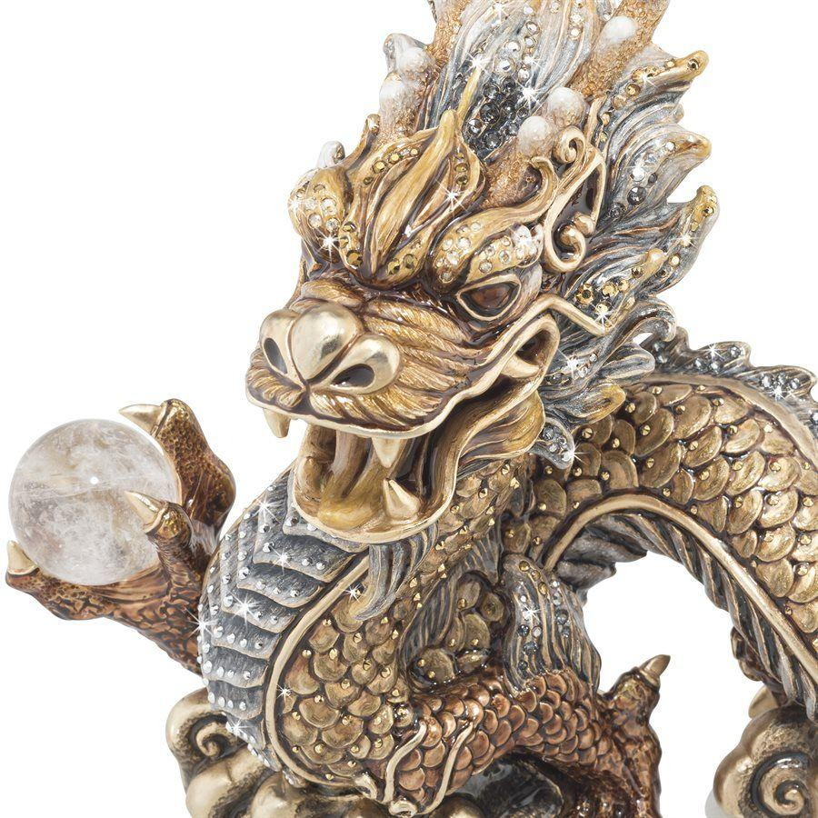 Jay Strongwater Apalala Imperial Dragon Figurine SDH1907-295