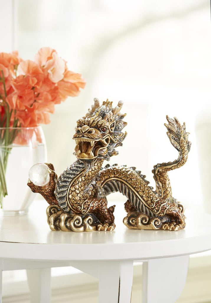 Jay Strongwater Apalala Imperial Dragon Figurine SDH1907-296
