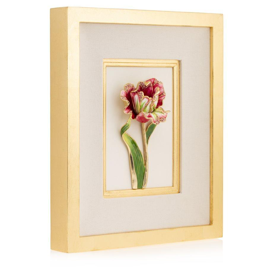 Jay Strongwater Brooke Tulip Wall Art SHW3327-256