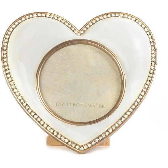 Jay Strongwater Chantal Heart Frame SPF5809-292