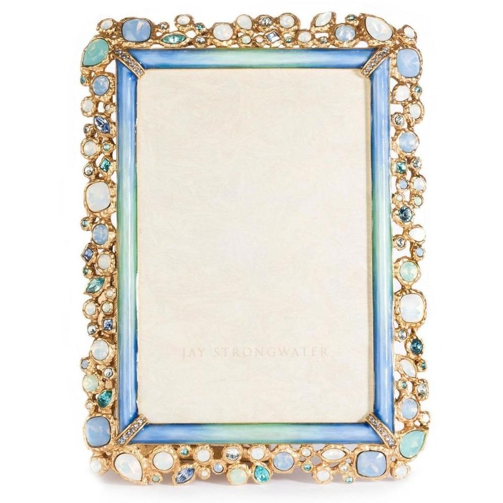 Jay Strongwater Emery Bejeweled Frame SPF5813-230