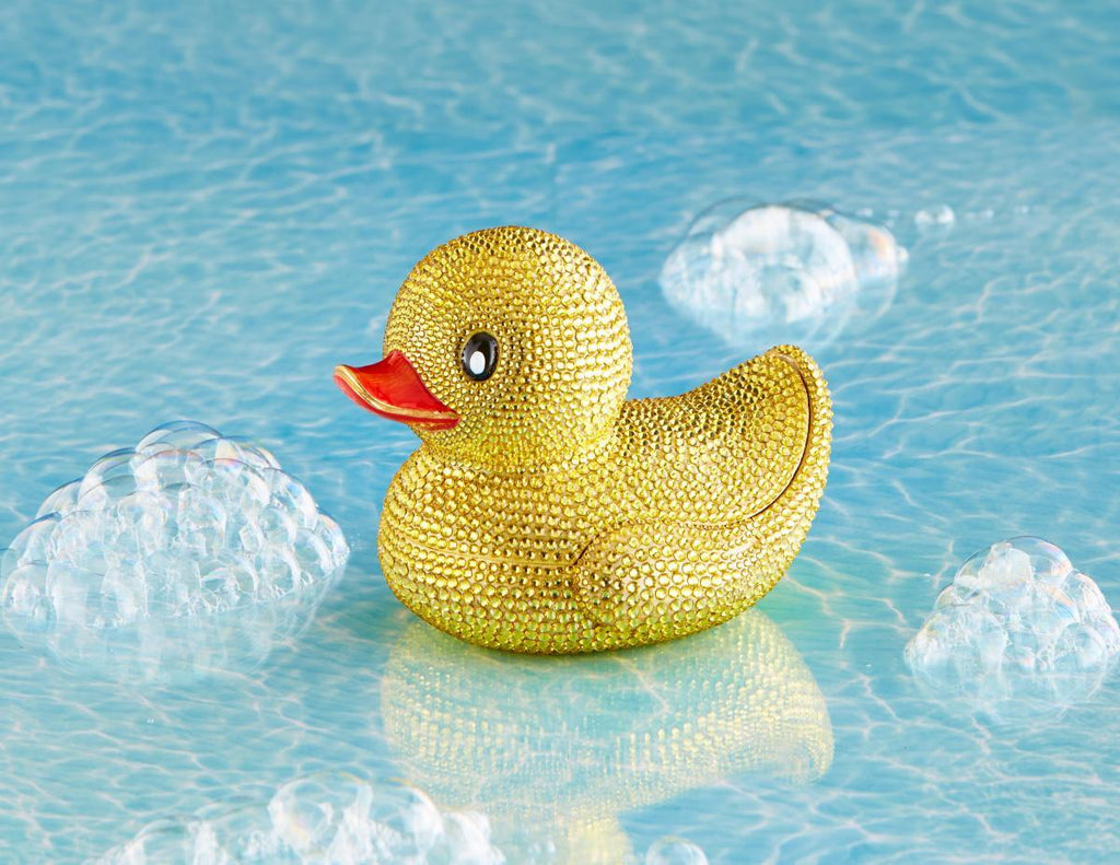 Jay Strongwater Ernie Pave Rubber Ducky Box SDH7409-204