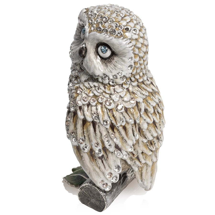 "Jay Strongwater Hildy Owl 5"" Figurine SDH1833-614"