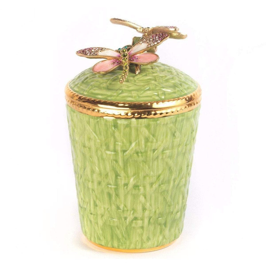 Jay Strongwater Ivy Dragonfly Candle SDH6609-272