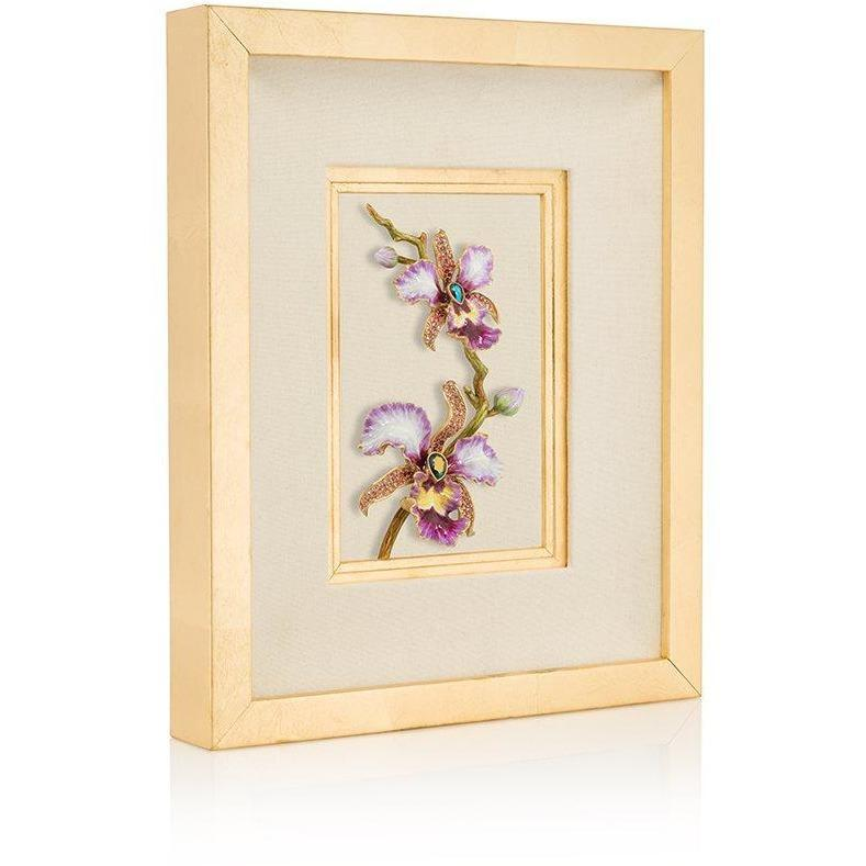 Jay Strongwater Julia Orchid Wall Art SHW3314-237