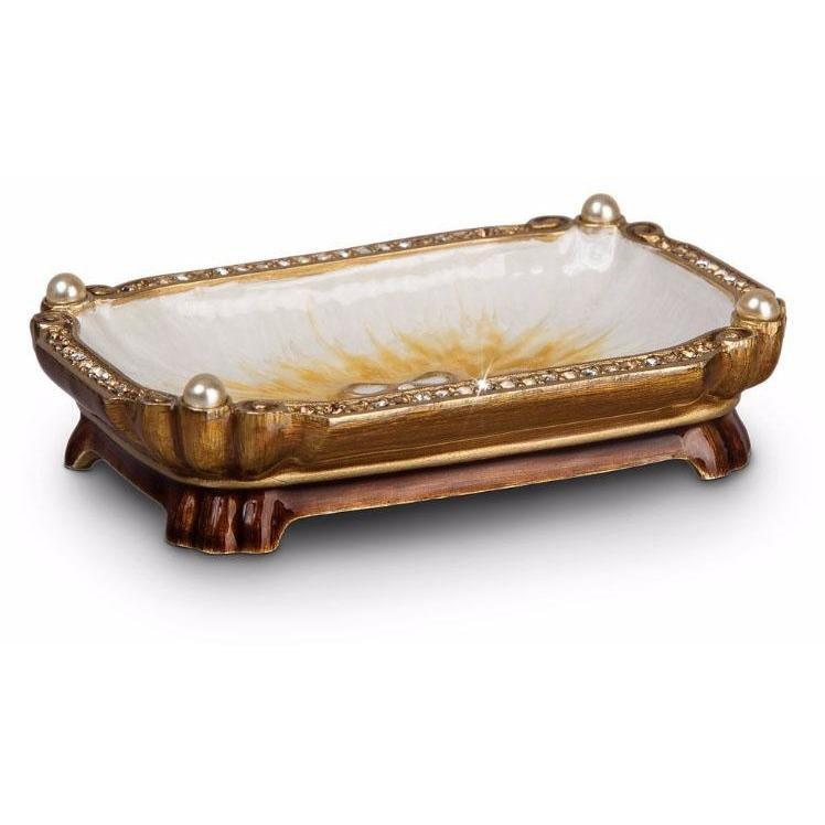 Jay Strongwater Ling Mystic Knot Trinket Tray SDH1123-232