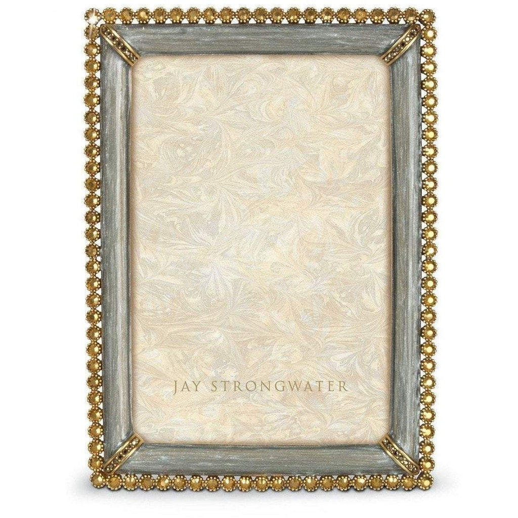 Jay Strongwater Lorraine Enamel And Stone Edge Frame SPF5510-296