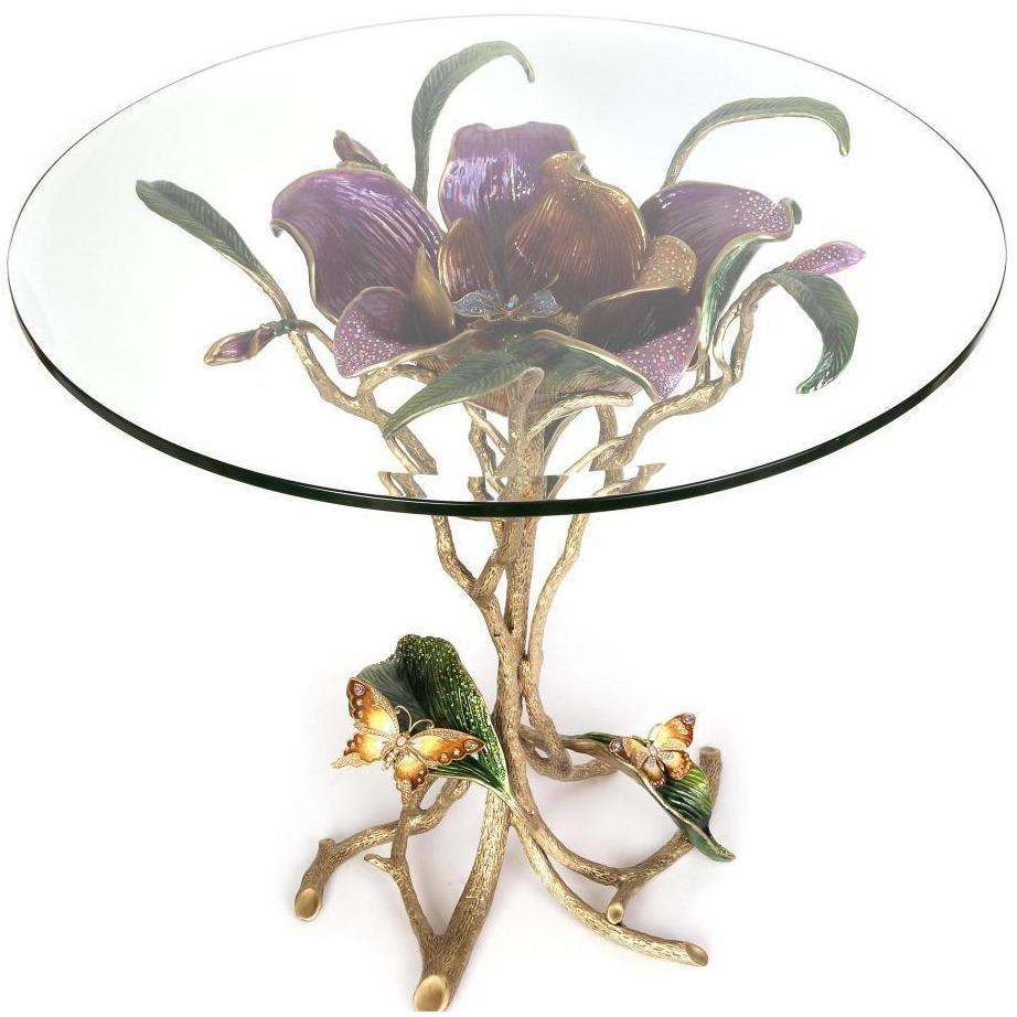 Jay Strongwater Marjorie Magnolia Table Bouquet SHW3300-289