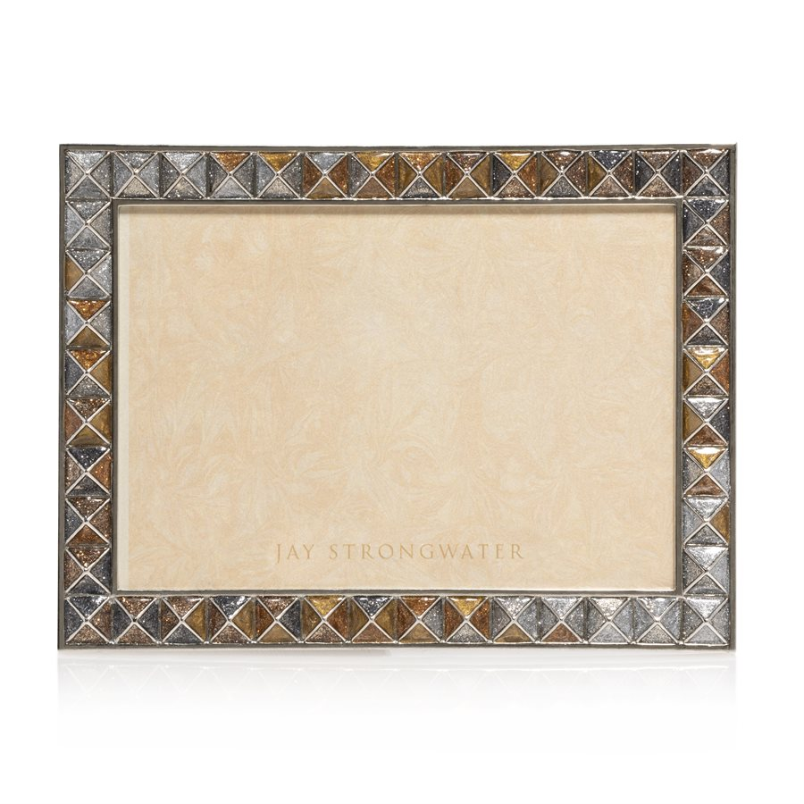Jay Strongwater Mosaic Pyramid 5 x 7 Frame SPF5877-634