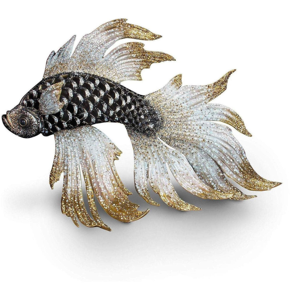 Jay Strongwater Namoko Fighting Fish Figurine SDH1856-269