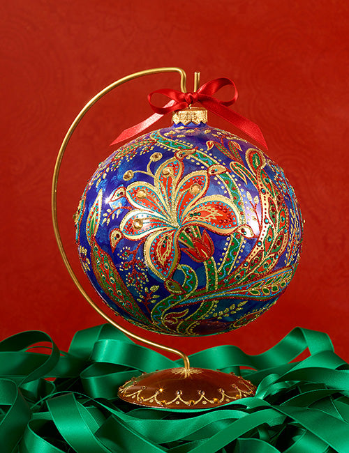 Jay Strongwater Opulent Glass Ornament SDH2257-250
