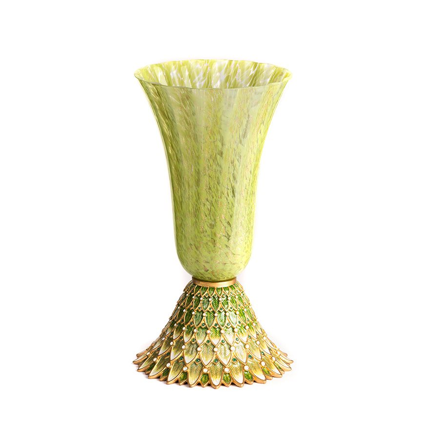 Jay Strongwater Sabrina Feather Vase Bouquet SDH2398-229
