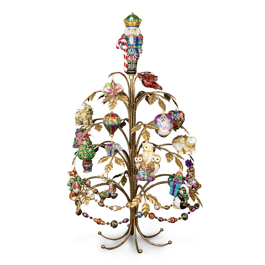 Jay Strongwater Thompson Metal Holiday Tree SDH2546-492