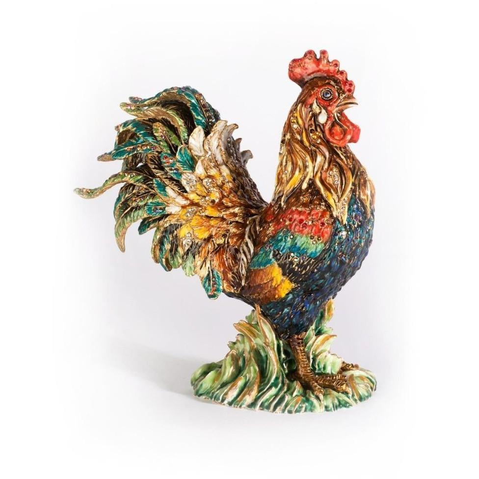 Jay Strongwater Yan Rooster Figurine SDH1883-280