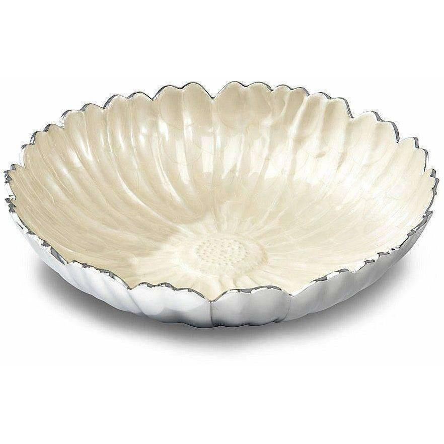 "Julia Knight Aster 15"" Bowl Snow 5830015"