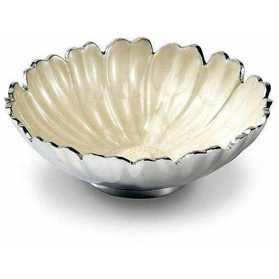 "Julia Knight Aster 8"" Bowl Snow 5850015"