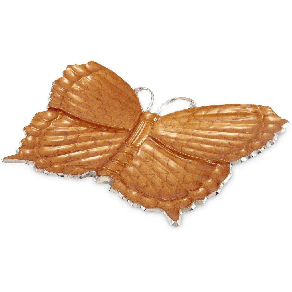 "Julia Knight Butterfly 17"" Platter Spice 7470043"