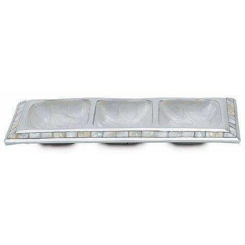 "Julia Knight Classic 13.5"" Segmented Tray Snow 4000015"