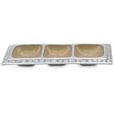 "Julia Knight Classic 13.5"" Segmented Tray Toffee 4000030"