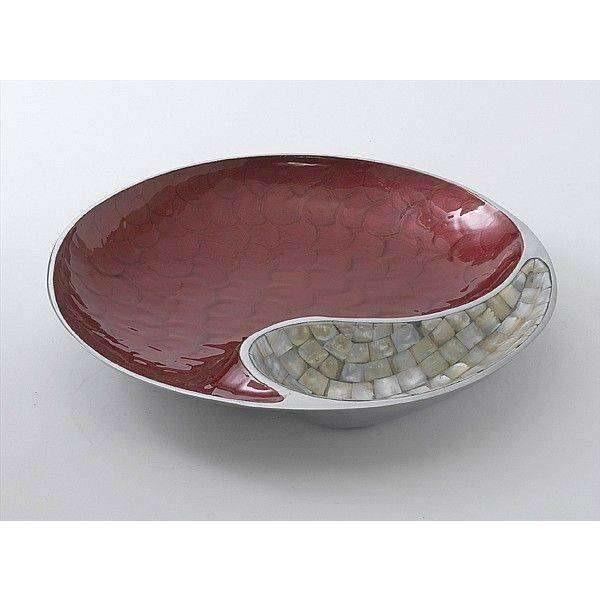 "Julia Knight Classic 13"" Yin Yang Bowl Pomegranate 2510040"