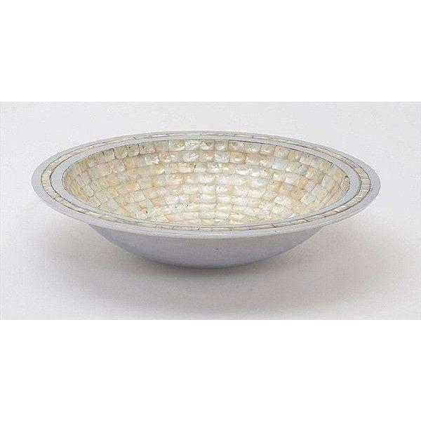 "Julia Knight Classic 15"" Round Bowl Mother of Pearl 1730000"