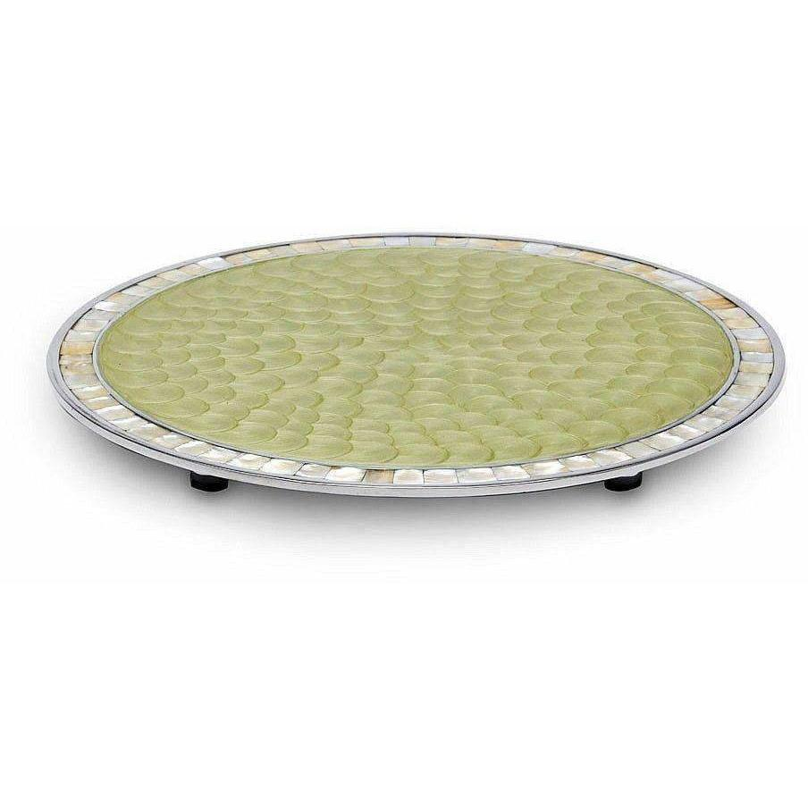"Julia Knight Classic 15"" Round Cheese Tray Kiwi 5960026"