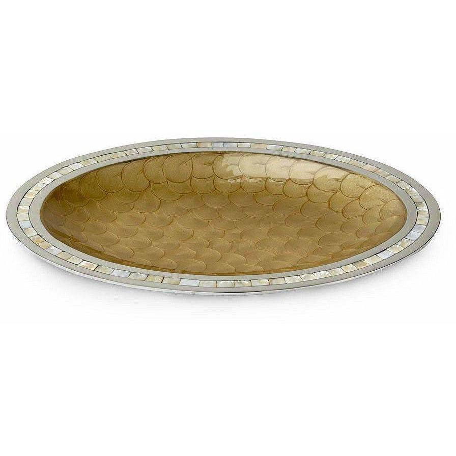 "Julia Knight Classic 18"" Oval Platter Toffee 5460030"