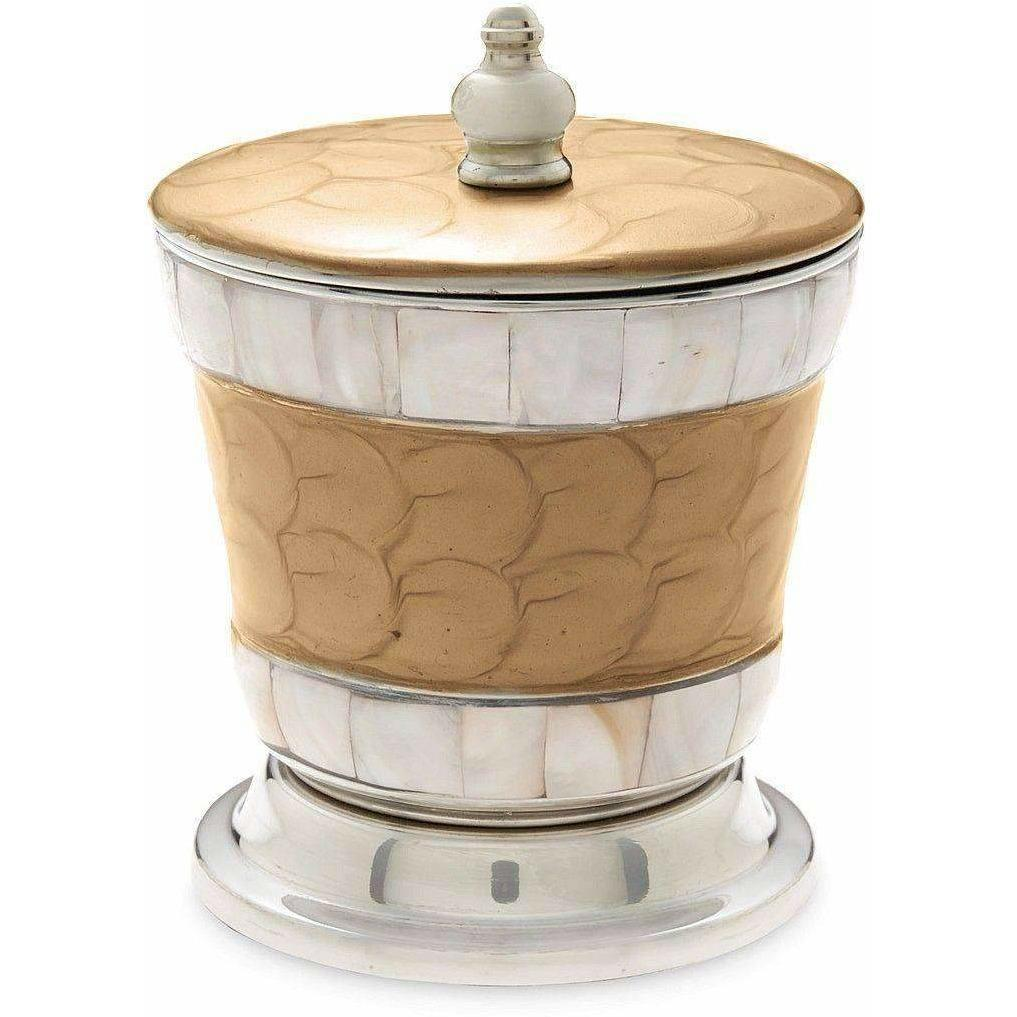 "Julia Knight Classic 5.5"" Covered Canister Toffee 5920030"
