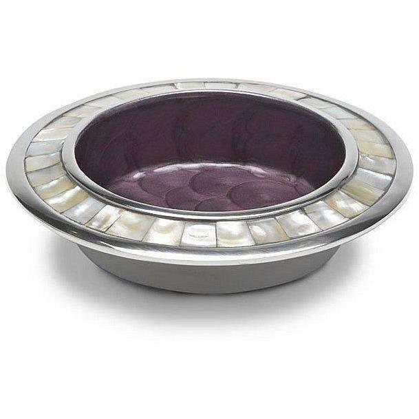 "Julia Knight Classic 6"" Wine Coaster Amethyst 4640038"