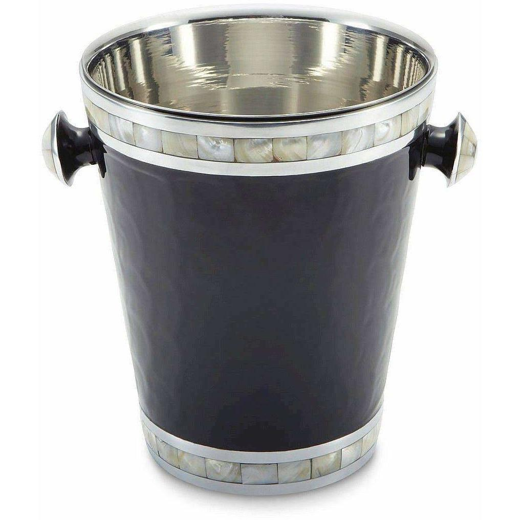 "Julia Knight Classic 8"" Ice Bucket &  Wine Chiller Caviar 5480044"