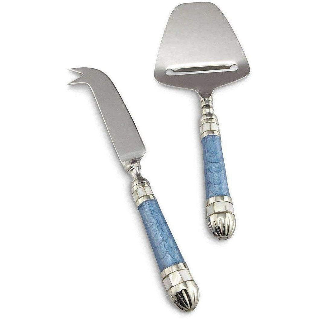 Julia Knight Classic Cheese Serving Set Azure 5990036