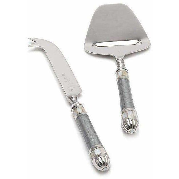 Julia Knight Classic Cheese Serving Set Platinum 5990037