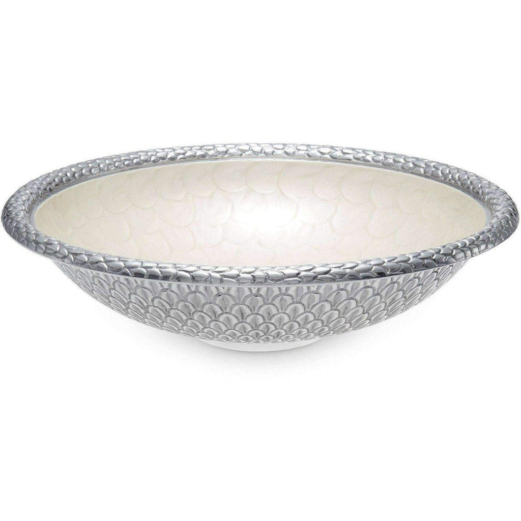 "Julia Knight Florentine 15"" Round Snow Bowl 7230015"