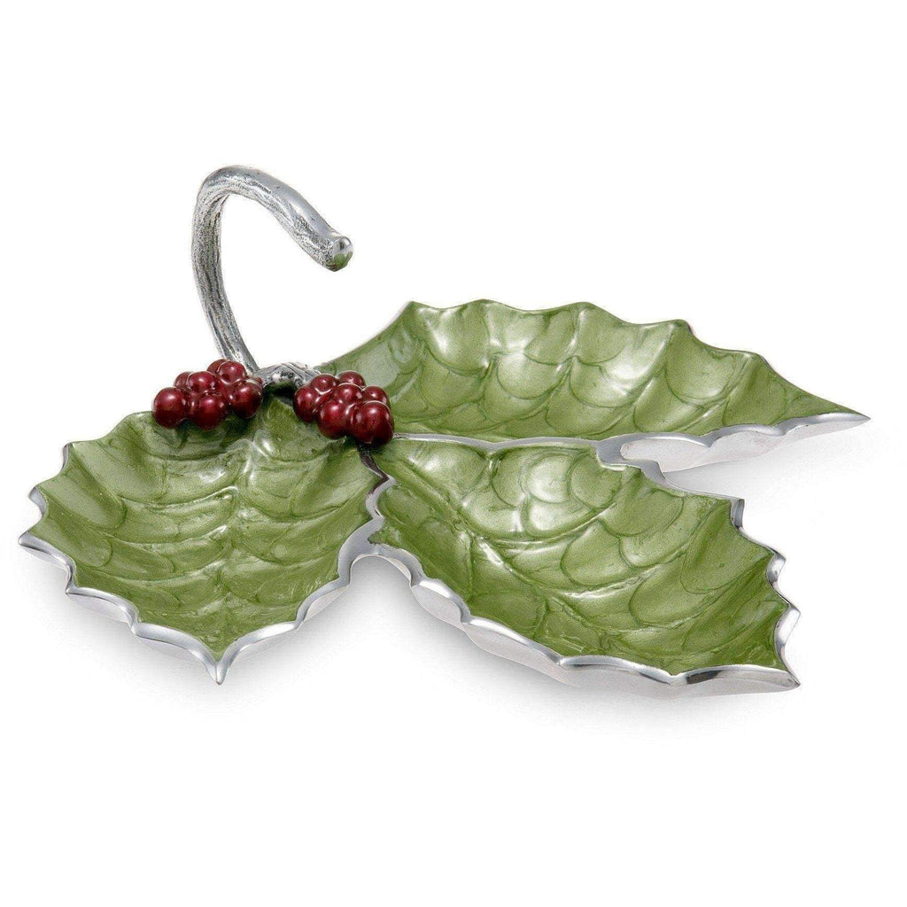 "Julia Knight Holly Sprig 13"" - 3 Part Server Mojito with Red Berries 7350023"