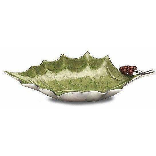 "Julia Knight Holly Sprig 17"" Bowl Mojito 5150023"