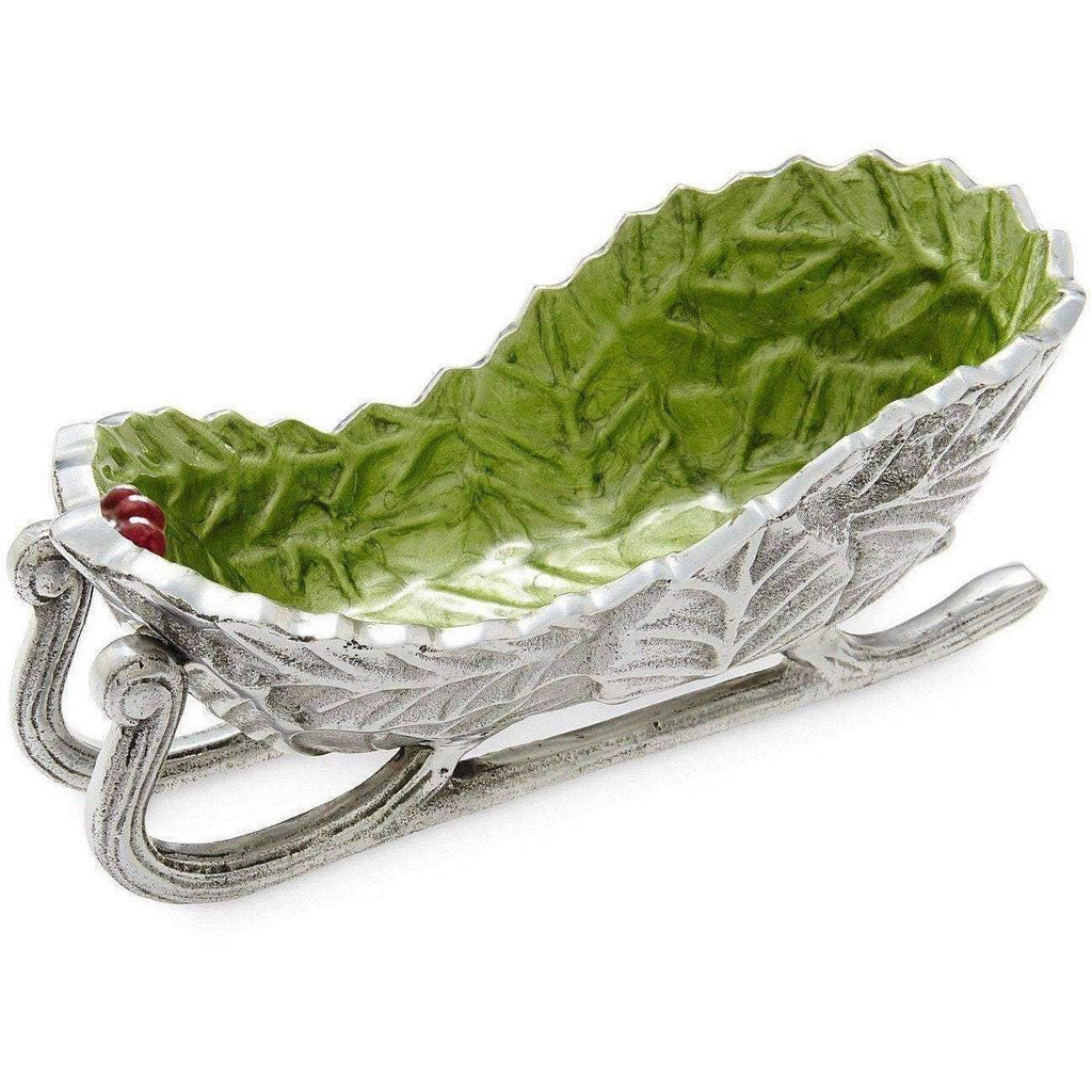 "Julia Knight Holly Sprig 8"" Sleigh Bowl Mojito 7850023"