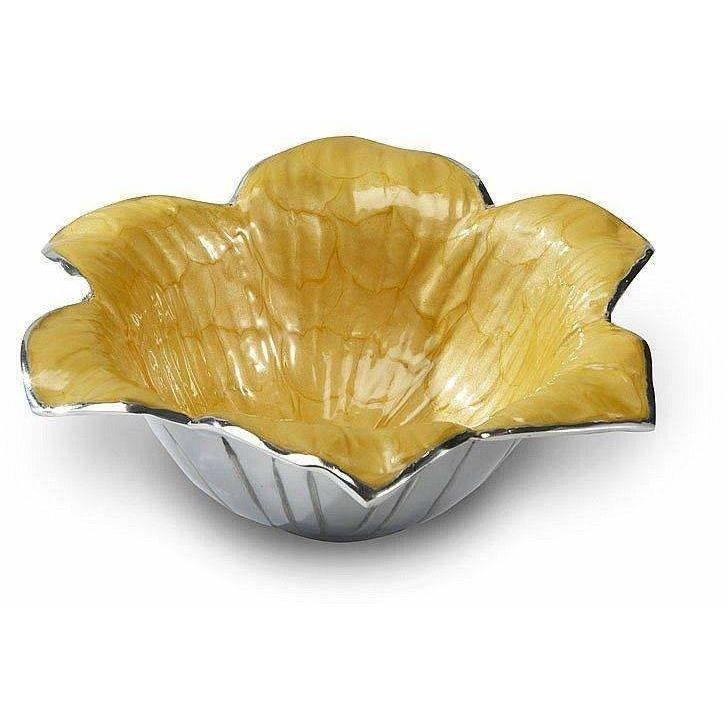 "Julia Knight Lily 11"" Bowl Saffron 5020034"