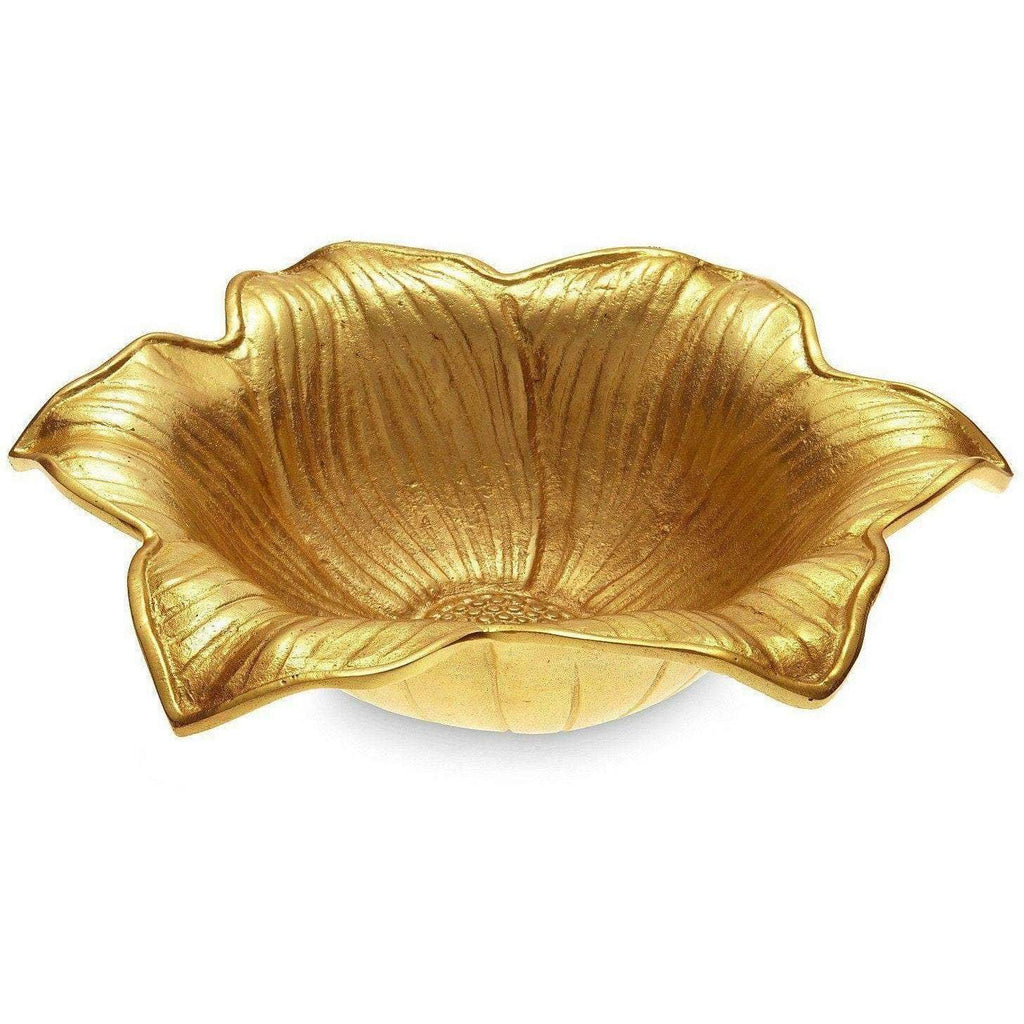 "Julia Knight Lily 15"" Bowl Gold 5000300"