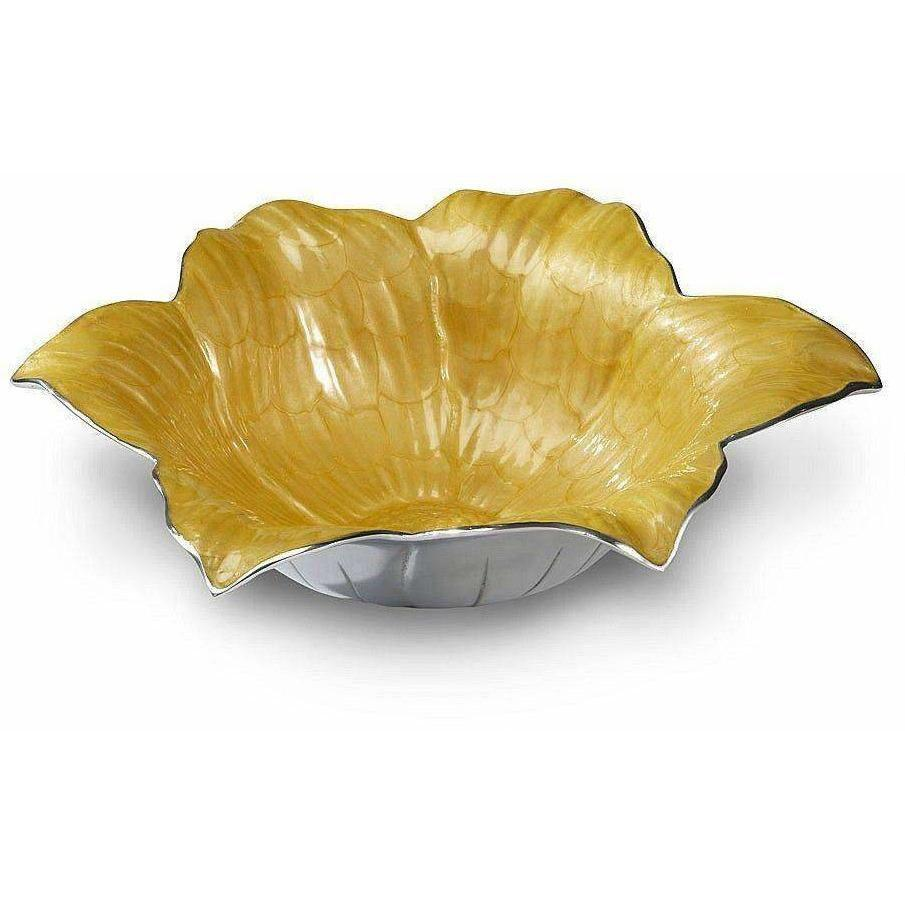 "Julia Knight Lily 15"" Bowl Saffron 5000034"