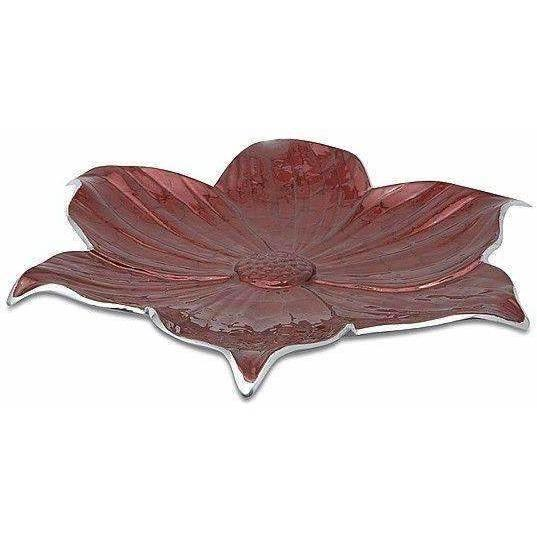 "Julia Knight Lily 17"" Platter Pomegranate 5050040"