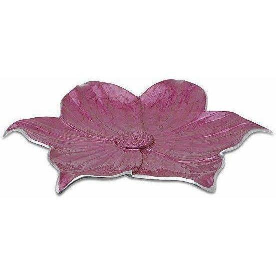 "Julia Knight Lily 17"" Platter Raspberry 5050029"