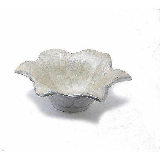 "Julia Knight Lily 4"" Bowl Snow 5040015"