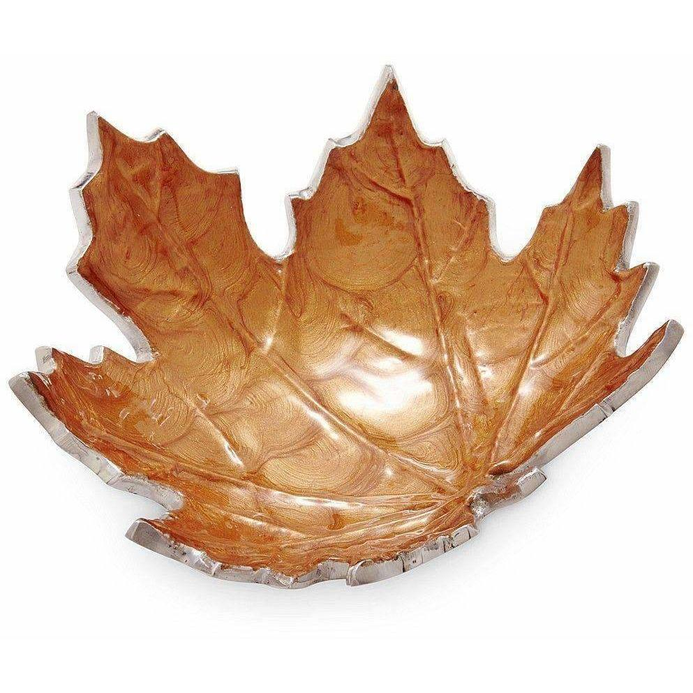 "Julia Knight Maple Leaf 6"" Petite Bowl Spice 7820043"