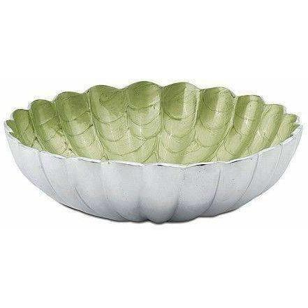 "Julia Knight Peony 12"" Round Deep Bowl Kiwi 4500026"