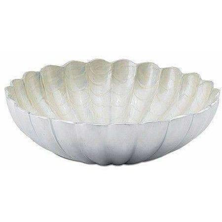 "Julia Knight Peony 12"" Round Deep Bowl Snow 4500015"